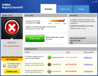 Uniblue RegistryCleanerKit 1.0.1.4 screenshot. Click to enlarge!