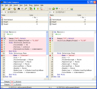 VBA Code Compare 0.4 screenshot. Click to enlarge!