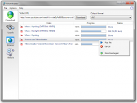 VDownloader 4.5.2598 screenshot. Click to enlarge!