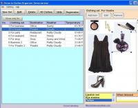 Victoria Clothes Organizer 1.2 screenshot. Click to enlarge!