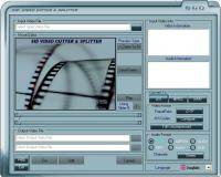 Video Cutter and Splitter Indepth 1.3.0.0 screenshot. Click to enlarge!