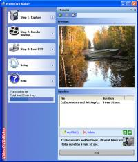 Video DVD Maker FREE 3.32.0.80 screenshot. Click to enlarge!