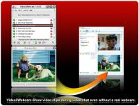 Video2Webcam 3.6.5.6 screenshot. Click to enlarge!