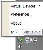 VirtualDVD 7.5 screenshot. Click to enlarge!