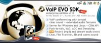 VoIP EVO SDK for Windows and Linux 3.0 screenshot. Click to enlarge!