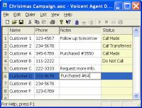 Voicent Agent Dialer 9.1.0 screenshot. Click to enlarge!