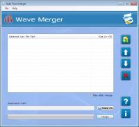 WAV Merger Software 2.3.8.2 screenshot. Click to enlarge!