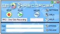 WM Recorder 16.8.1 screenshot. Click to enlarge!
