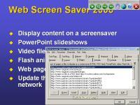 Web Screen Saver 2010SE screenshot. Click to enlarge!