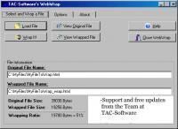 WebWrap 1.1.0 screenshot. Click to enlarge!