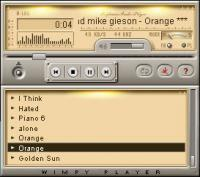 Wimpy MP3 Player 6.0.23 screenshot. Click to enlarge!