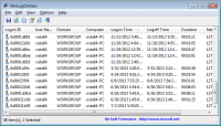WinLogOnView 1.20 screenshot. Click to enlarge!
