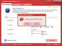 WinMend Auto Shutdown 2.1.0.0 screenshot. Click to enlarge!