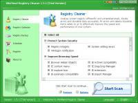 WinMend Registry Cleaner 2.2.0.0 screenshot. Click to enlarge!
