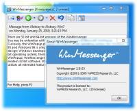 WinMessenger 2.8.05 screenshot. Click to enlarge!