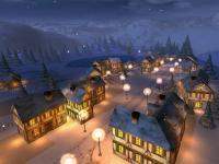 Winter Night 3D Screensaver 1.2 screenshot. Click to enlarge!
