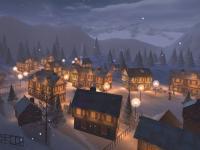 Winter Town 3D Screensaver 1.2 screenshot. Click to enlarge!