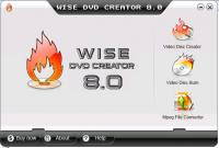 Wise DVD Creator 8.1.16 screenshot. Click to enlarge!