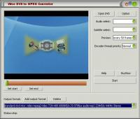 Wise DVD to AVI Converter 4.0.10 screenshot. Click to enlarge!