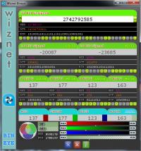 Wiznet Bineye 2.1.1 screenshot. Click to enlarge!