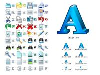 Word Icon Library 3.7 screenshot. Click to enlarge!