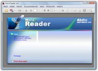 Word Reader 6.06 screenshot. Click to enlarge!