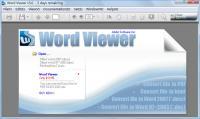Word Viewer 6.01 screenshot. Click to enlarge!