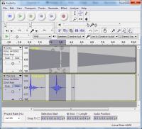 X-Audacity 2.1.3 [rev10] screenshot. Click to enlarge!