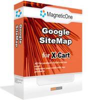 X-Cart Google SiteMap 3.6.9 screenshot. Click to enlarge!