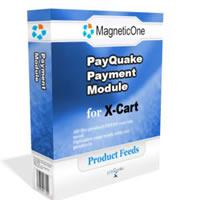 X-Cart Pay Quake Payment Module - X Cart Mod 4.0 screenshot. Click to enlarge!