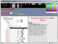 XML News Editor 2.0 1.0 screenshot. Click to enlarge!