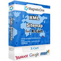 XML Sitemap for X-Cart 3.6.9 screenshot. Click to enlarge!