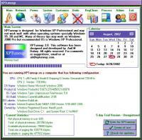 XPTuneup 3.0 screenshot. Click to enlarge!