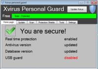 Xvirus Anti-Malware 7.0.4.0 screenshot. Click to enlarge!
