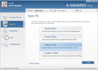 a-squared Free 4.5.0.27c screenshot. Click to enlarge!