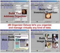 dB Organizer Deluxe 3.7 screenshot. Click to enlarge!
