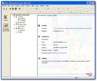 eMill Professional 5.10.55 Revision 000 screenshot. Click to enlarge!