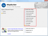 iMapBuilder Interactive HTML5 Map Builder 12.4 screenshot. Click to enlarge!