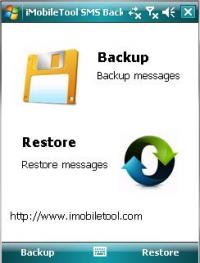 iMobileTool SMS Backup 3.10 screenshot. Click to enlarge!
