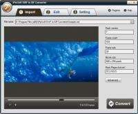 iPixSoft SWF to GIF Converter 2.6.1 screenshot. Click to enlarge!