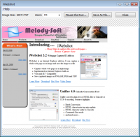 iWebshot 3.3.2 screenshot. Click to enlarge!