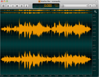 ocenaudio 3.2.8 screenshot. Click to enlarge!