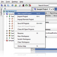 soapUI Portable 5.3.0 screenshot. Click to enlarge!