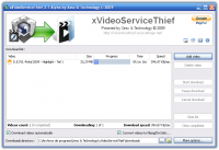 xVideoServiceThief 2.5 screenshot. Click to enlarge!